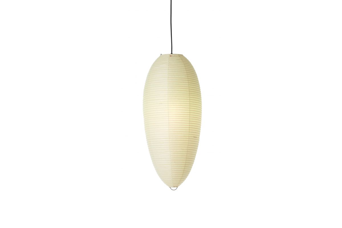 Vitra akari light sculptures round office mobilier de for Mobilier japonais suisse