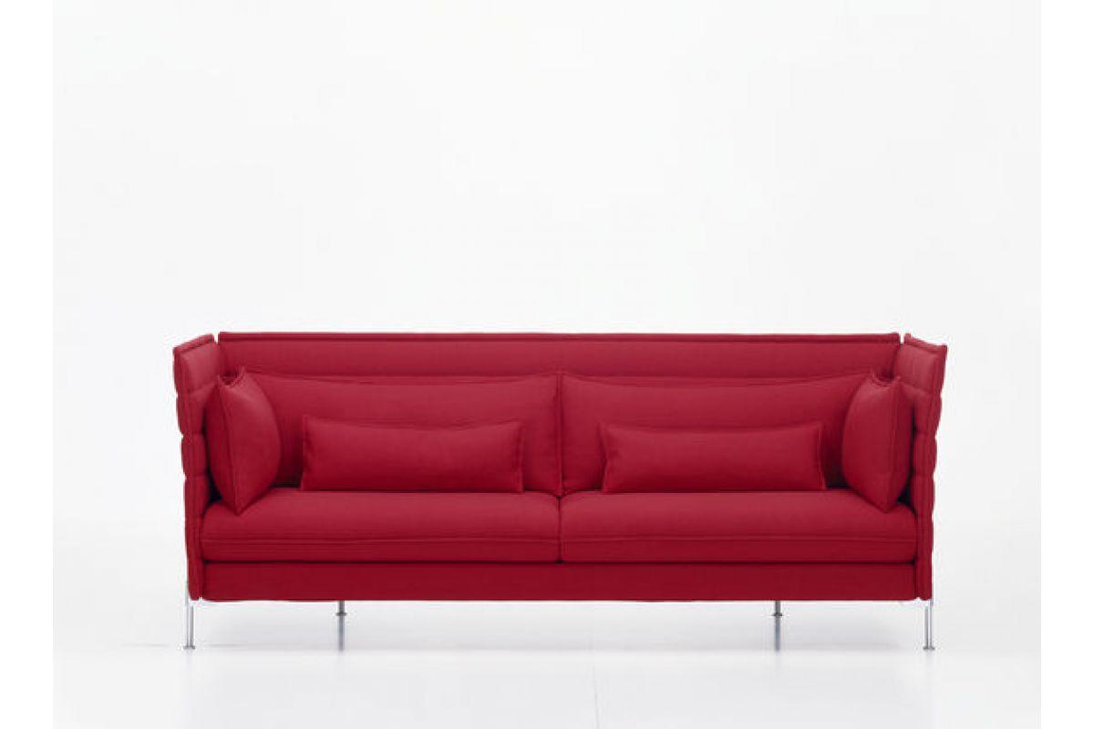 Vitra alcove sofa round office mobilier de bureau gen ve for Canape alcove bouroullec