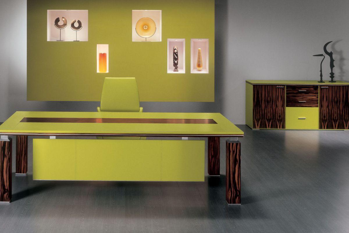 i 4 mariani ares bureau de direction round office mobilier de bureau gen ve. Black Bedroom Furniture Sets. Home Design Ideas