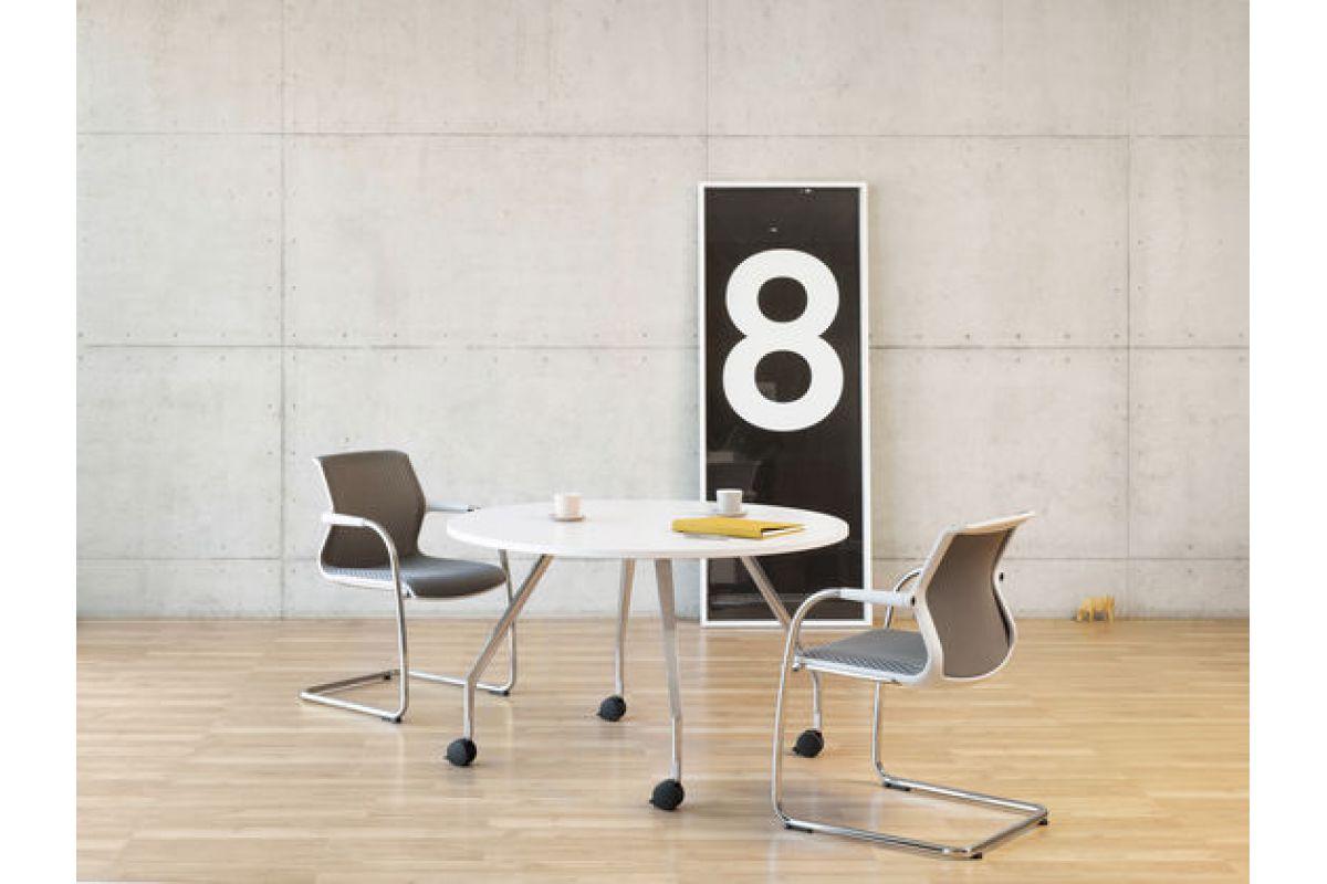 Vitra ad hoc solitaire round office mobilier de bureau for Mobilier bureau qualite