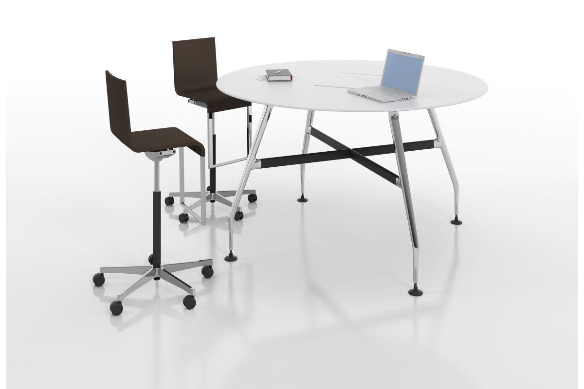 vitra ad hoc high work round office mobilier de bureau gen ve. Black Bedroom Furniture Sets. Home Design Ideas