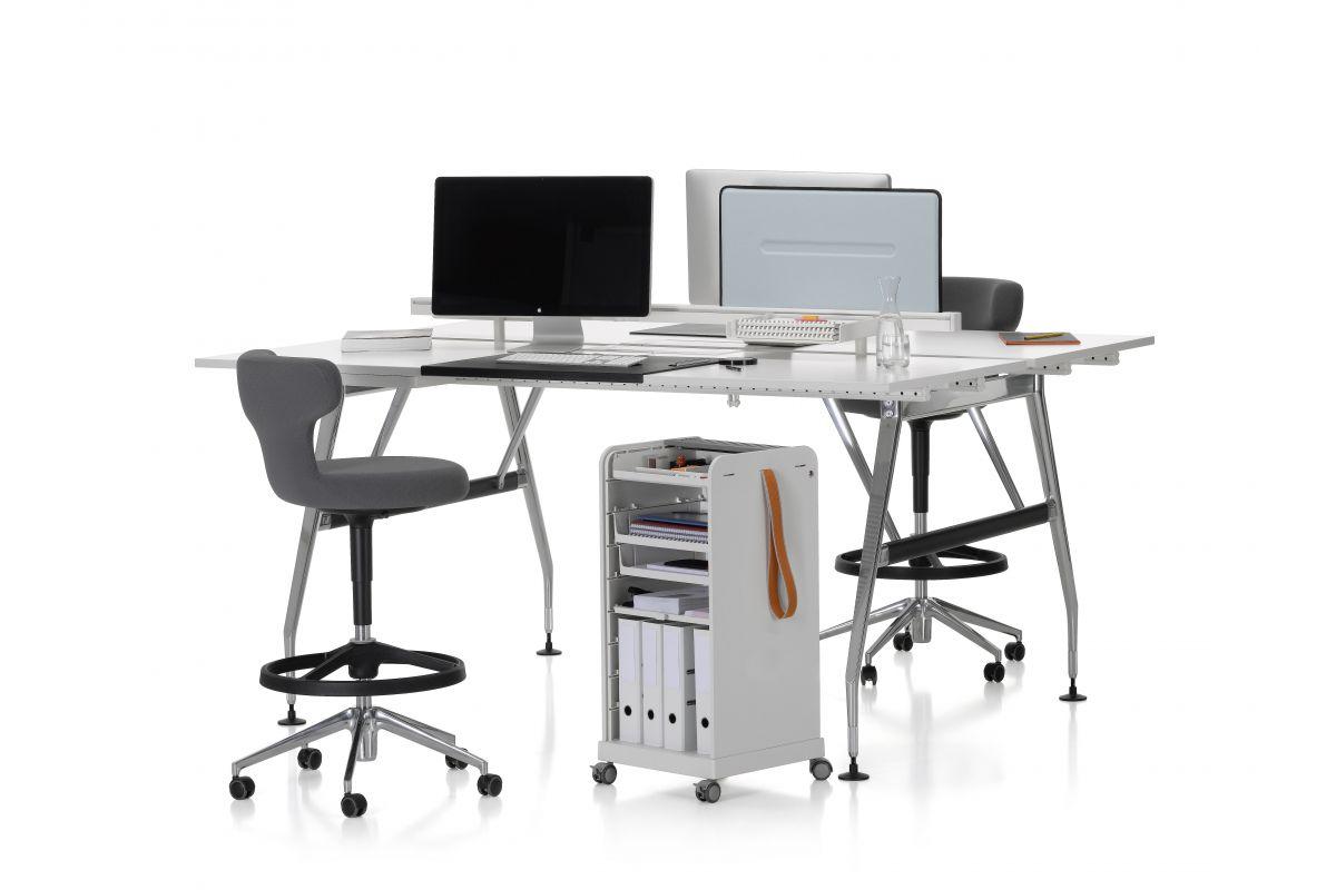 vitra pivot high stool round office mobilier de bureau gen ve. Black Bedroom Furniture Sets. Home Design Ideas