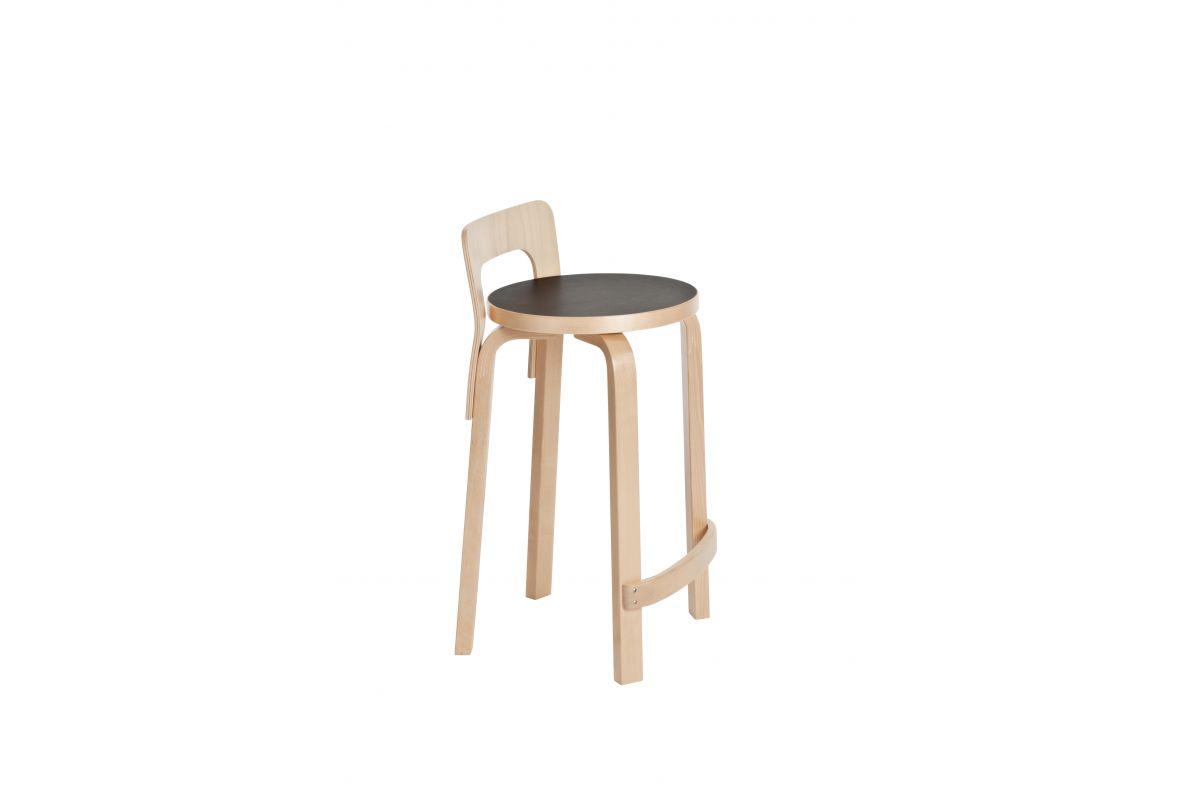 Artek High Chair K65 Round Office Mobilier De Bureau
