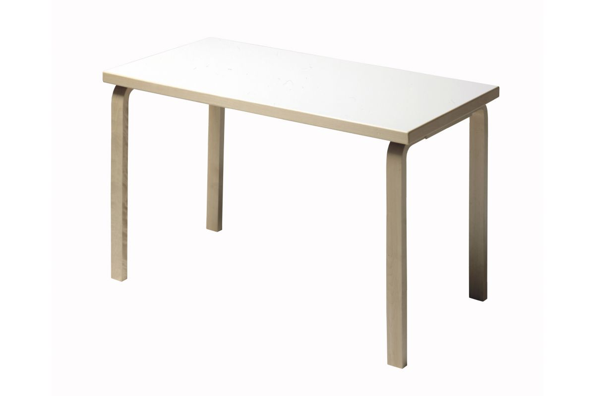 Artek table 80a 120x60 cm round office mobilier de for Mobilier bureau 67