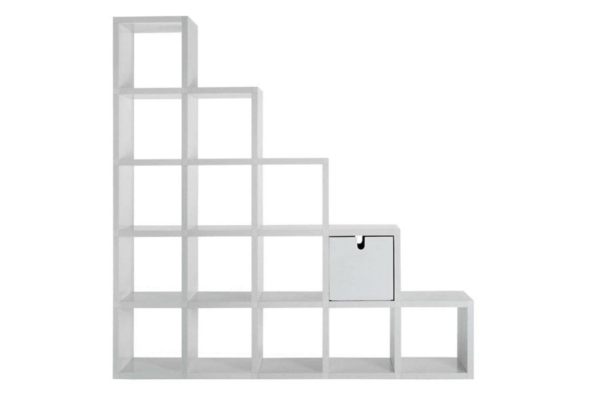 Kartell biblioth que modulable round office mobilier de bureau gen ve for Bureau kartell