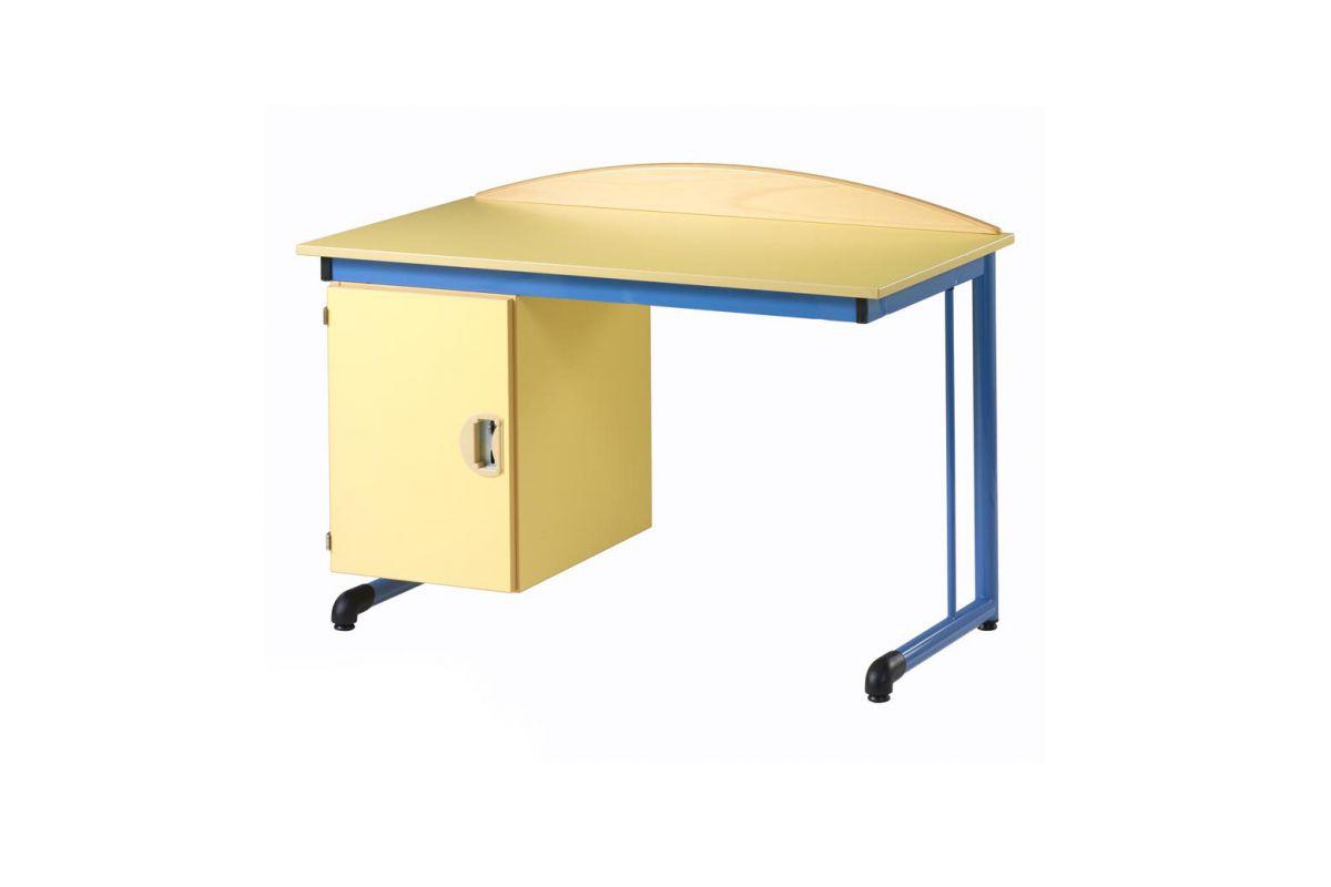 simire calypso bureau round office mobilier de bureau. Black Bedroom Furniture Sets. Home Design Ideas
