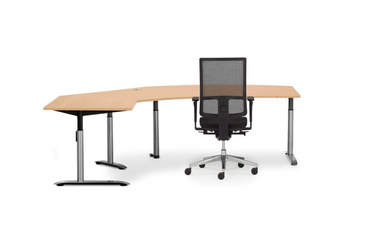 Febru ceo c eco r round office mobilier de bureau gen ve for Hauteur table standard