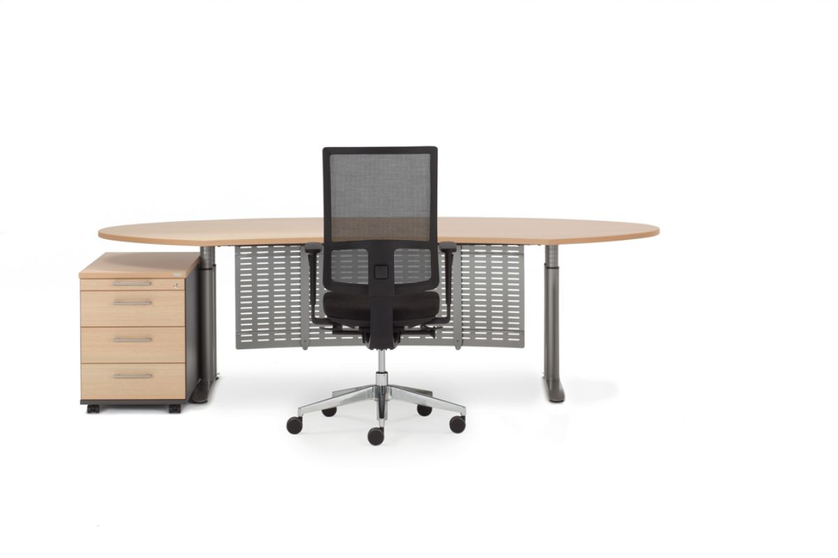 febru ceo e classic round office mobilier de bureau gen ve. Black Bedroom Furniture Sets. Home Design Ideas