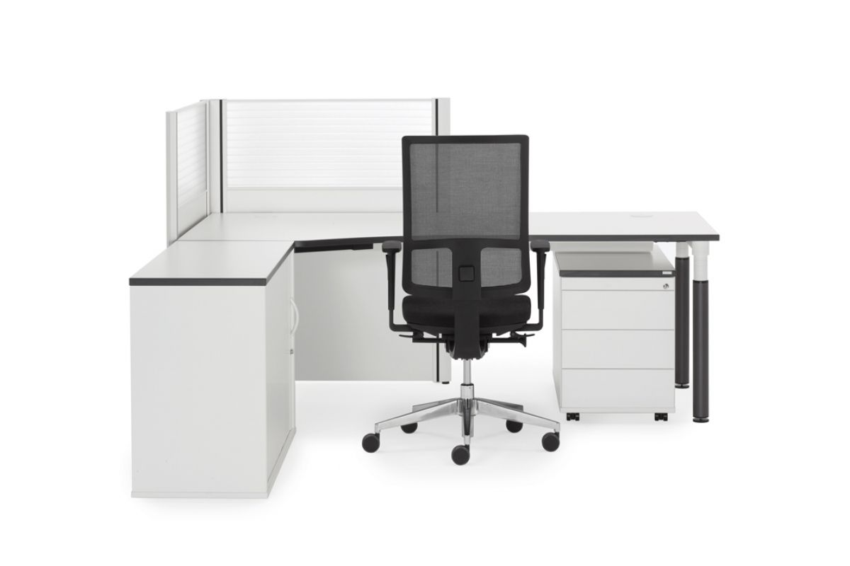 Febru ceo q classic round office mobilier de bureau gen ve for Hauteur table standard