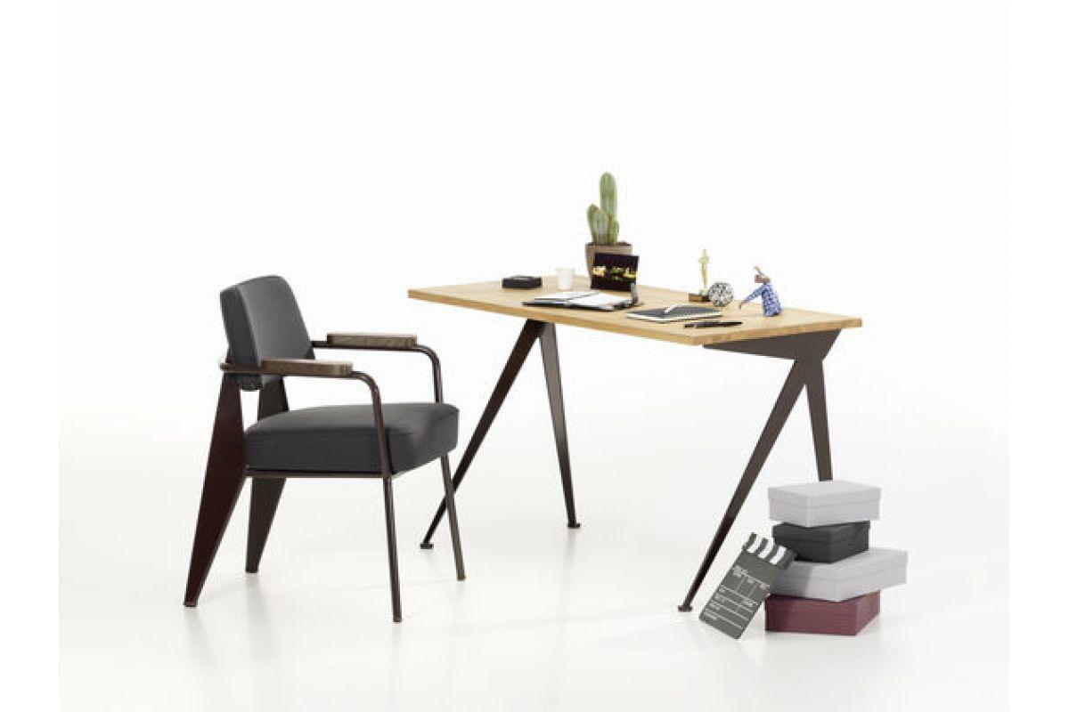 Vitra fauteuil direction round office mobilier de bureau gen ve - Fauteuil de bureau habitat ...