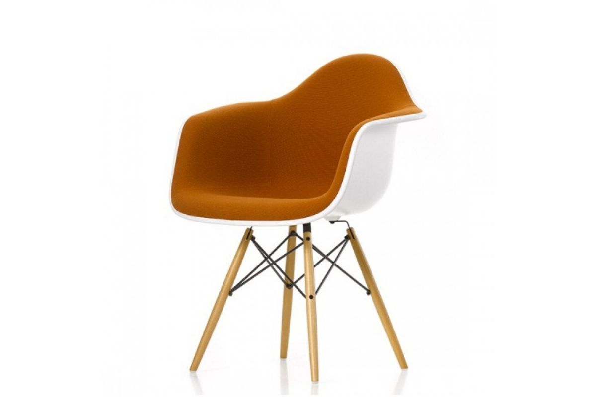 Vitra eames plastic armchair daw round office mobilier for Vitra mobilier
