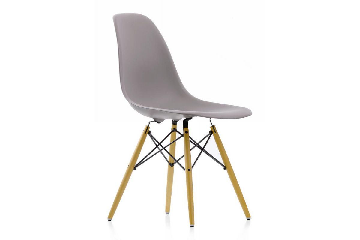 Vitra eames plastic side chair dsw round office for Vitra mobilier