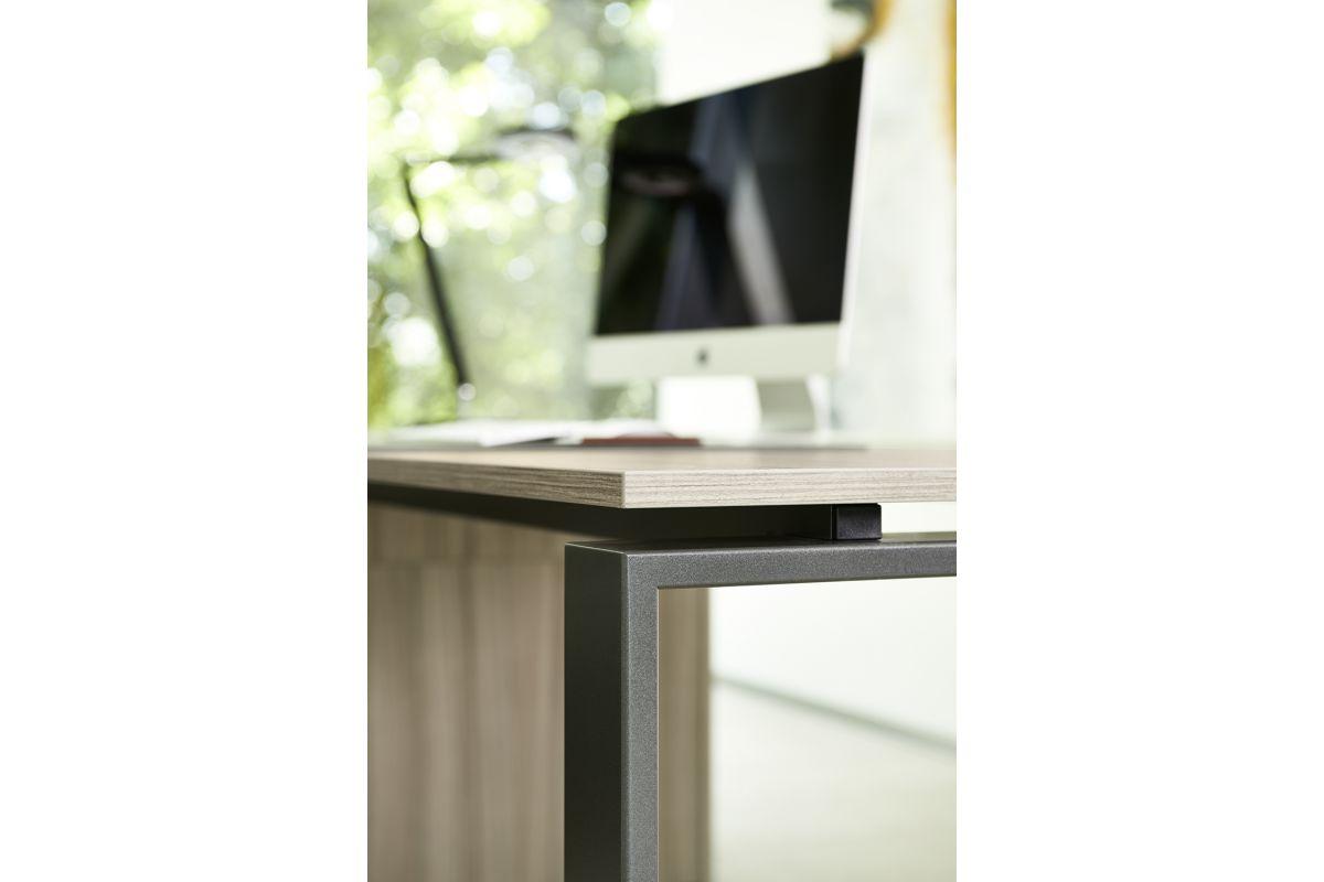 Febru intero round office mobilier de bureau gen ve for Hauteur table standard