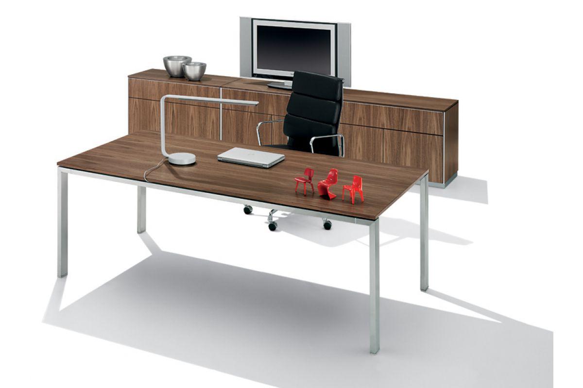Wini focus round office mobilier de bureau gen ve for Hauteur table standard