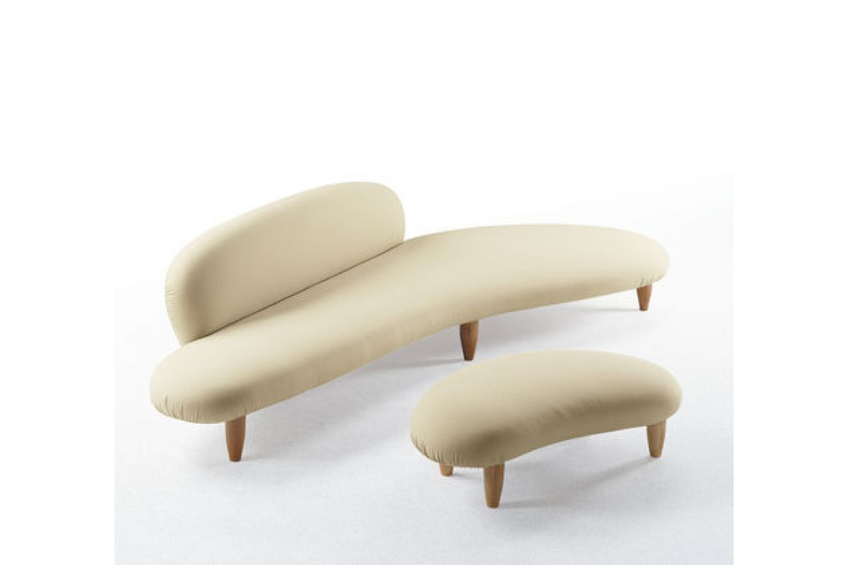 Vitra freeform sofa ottoman round office mobilier de for Vitra mobilier