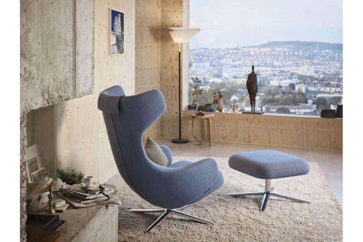 vitra grand repos ottoman round office mobilier de bureau gen ve. Black Bedroom Furniture Sets. Home Design Ideas