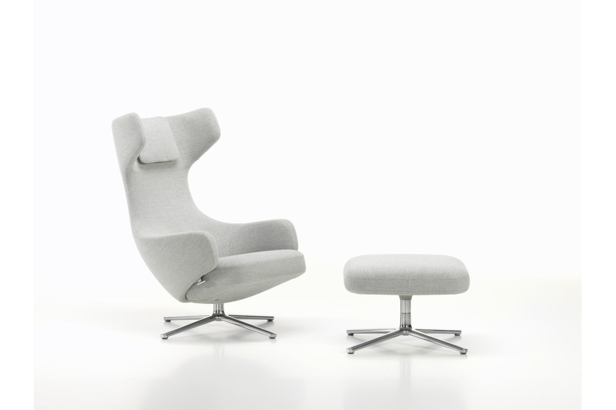 Vitra grand repos ottoman round office mobilier de for Vitra mobilier