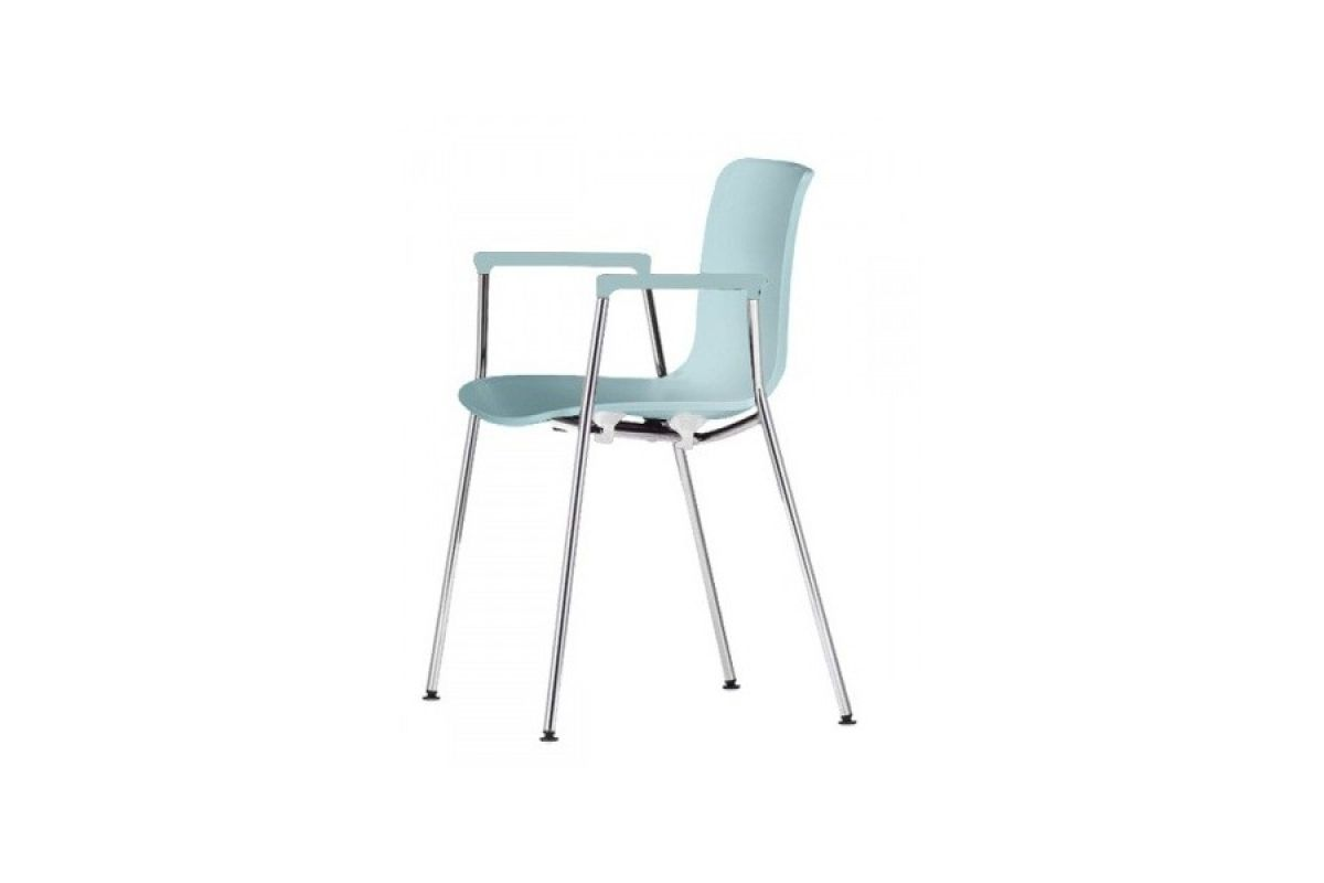 Vitra hal tube armrest round office mobilier de bureau for Vitra mobilier