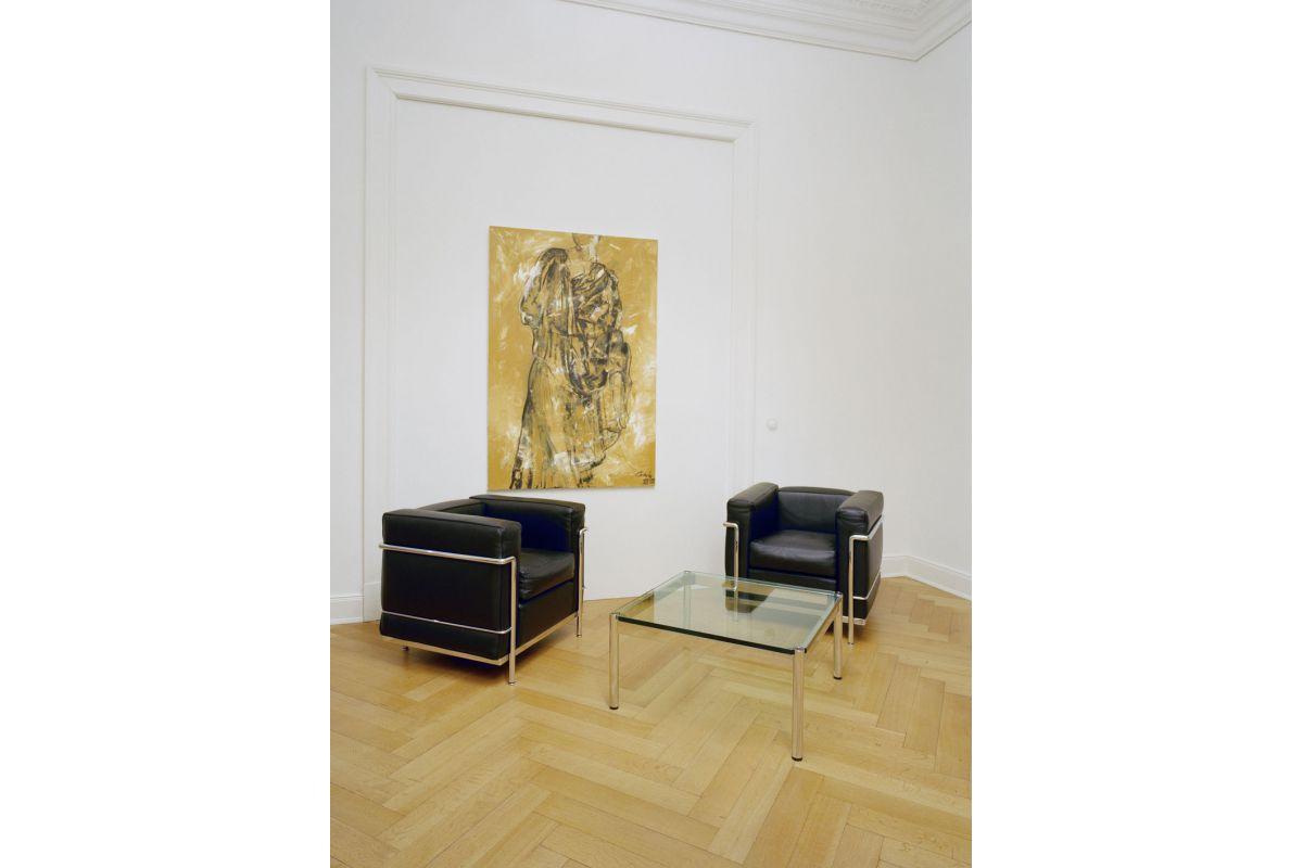 Usm usm haller table basse round office mobilier de for Bureau usm haller