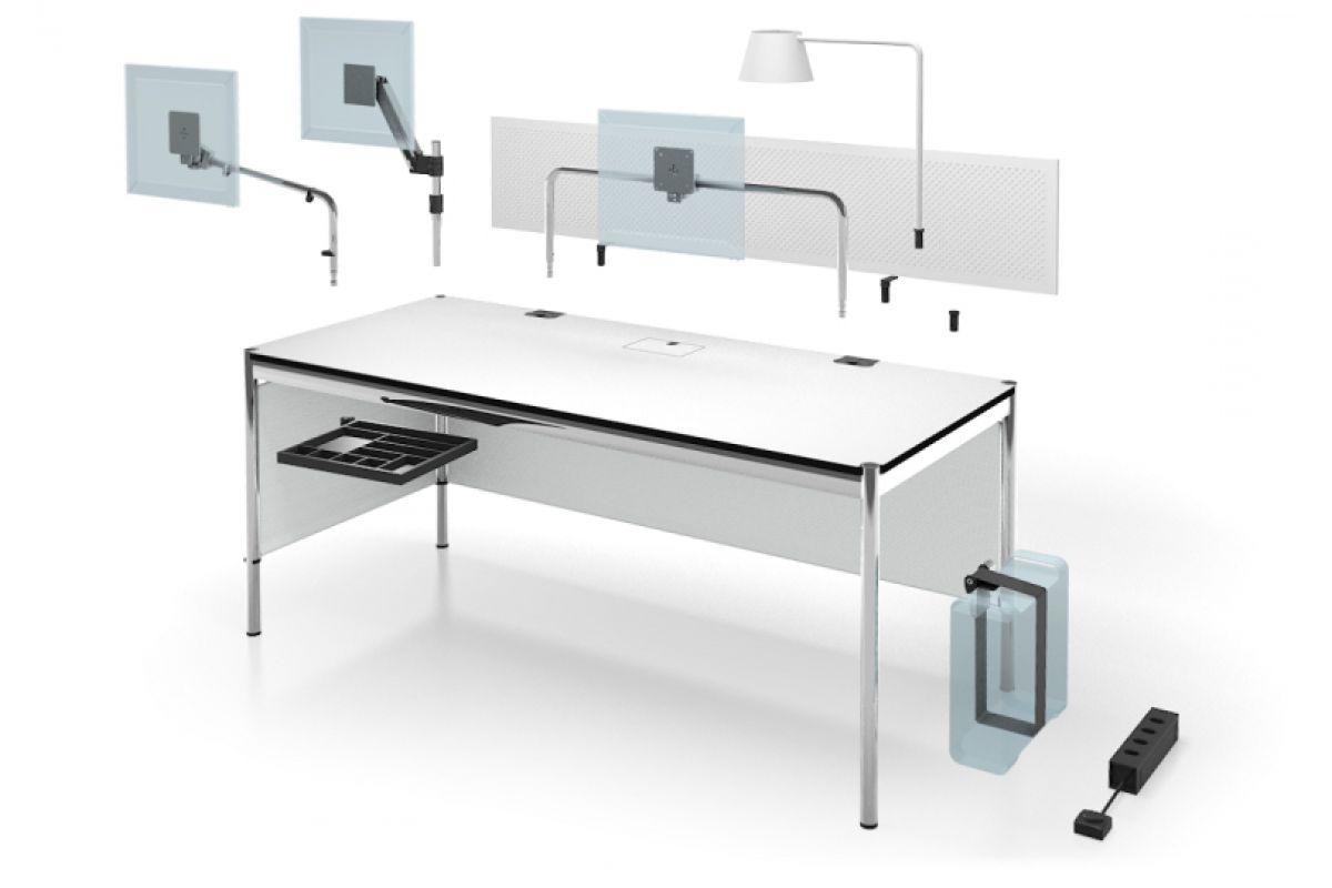 usm usm haller plus table rectangulaire round office mobilier de bureau gen ve. Black Bedroom Furniture Sets. Home Design Ideas