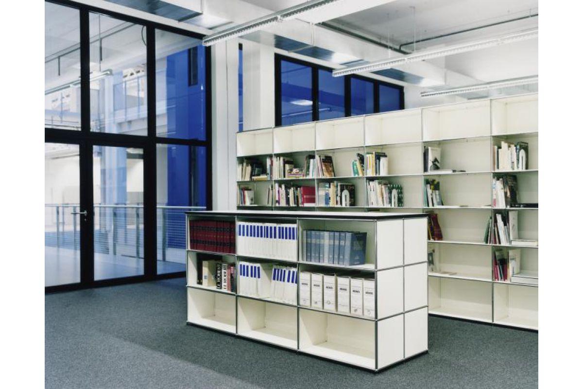Usm haller biblioth que round office mobilier de for Meuble usm occasion