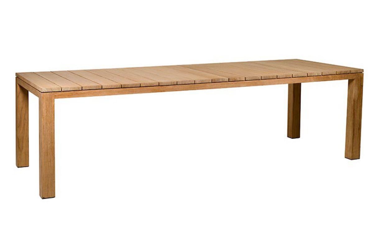 trib kos teak table round office mobilier de bureau gen ve. Black Bedroom Furniture Sets. Home Design Ideas