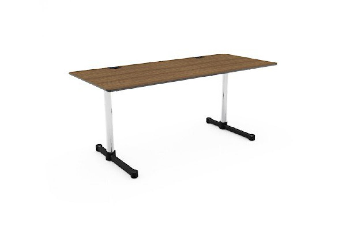 Usm usm kitos e plus round office mobilier de bureau for Hauteur table standard