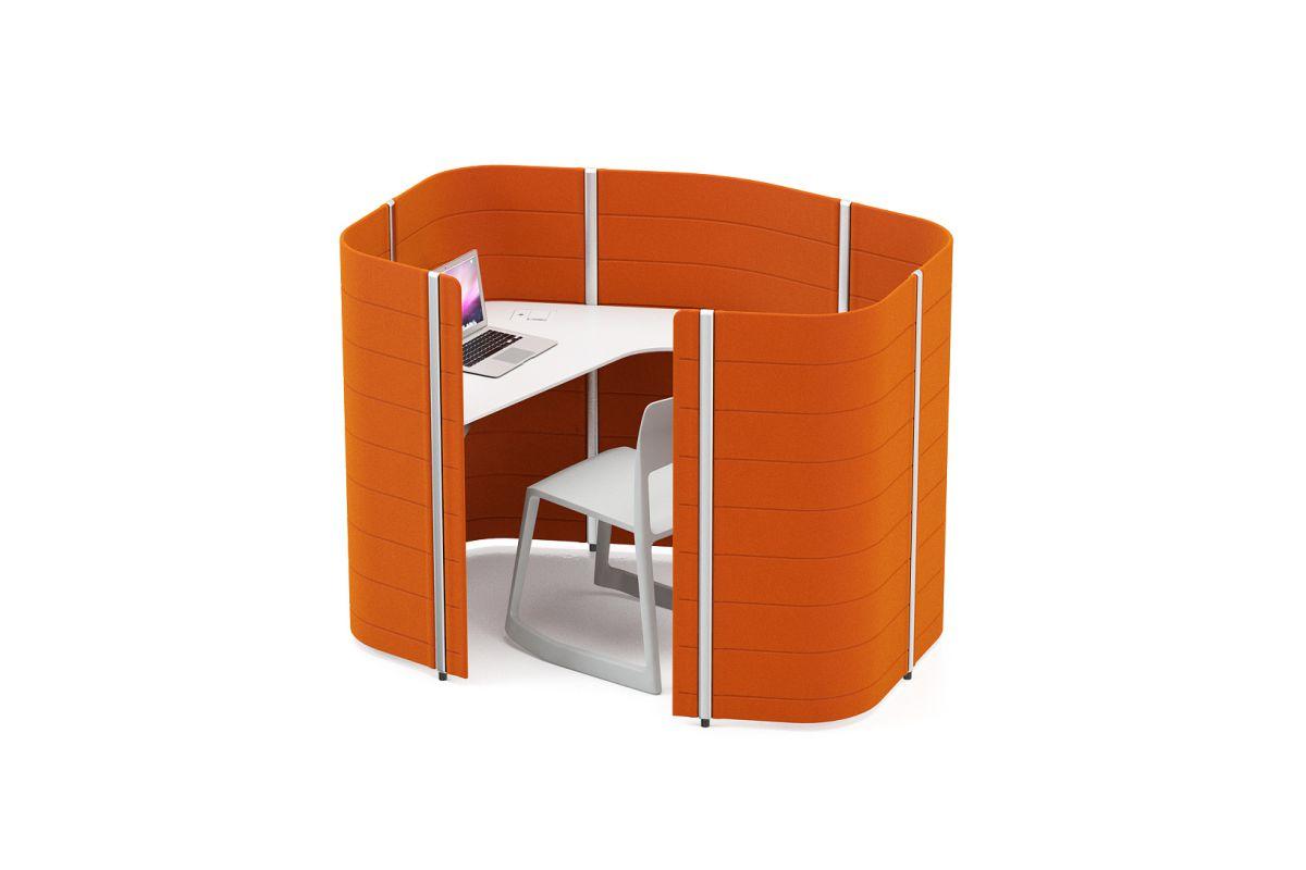 Vitra workbays focus round office mobilier de bureau for Mobilier bureau 51