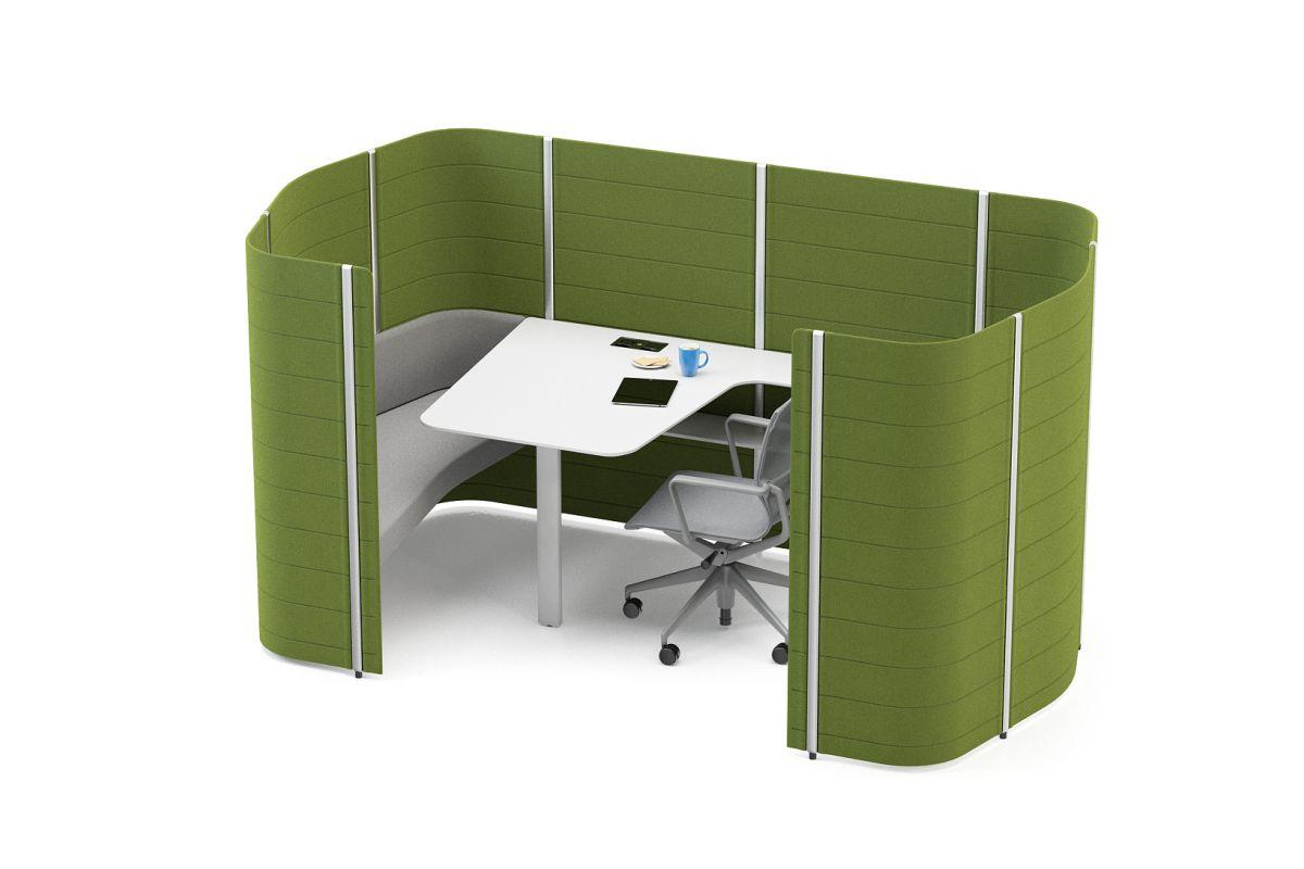 Vitra workbays meet round office mobilier de bureau gen ve for Vitra mobilier