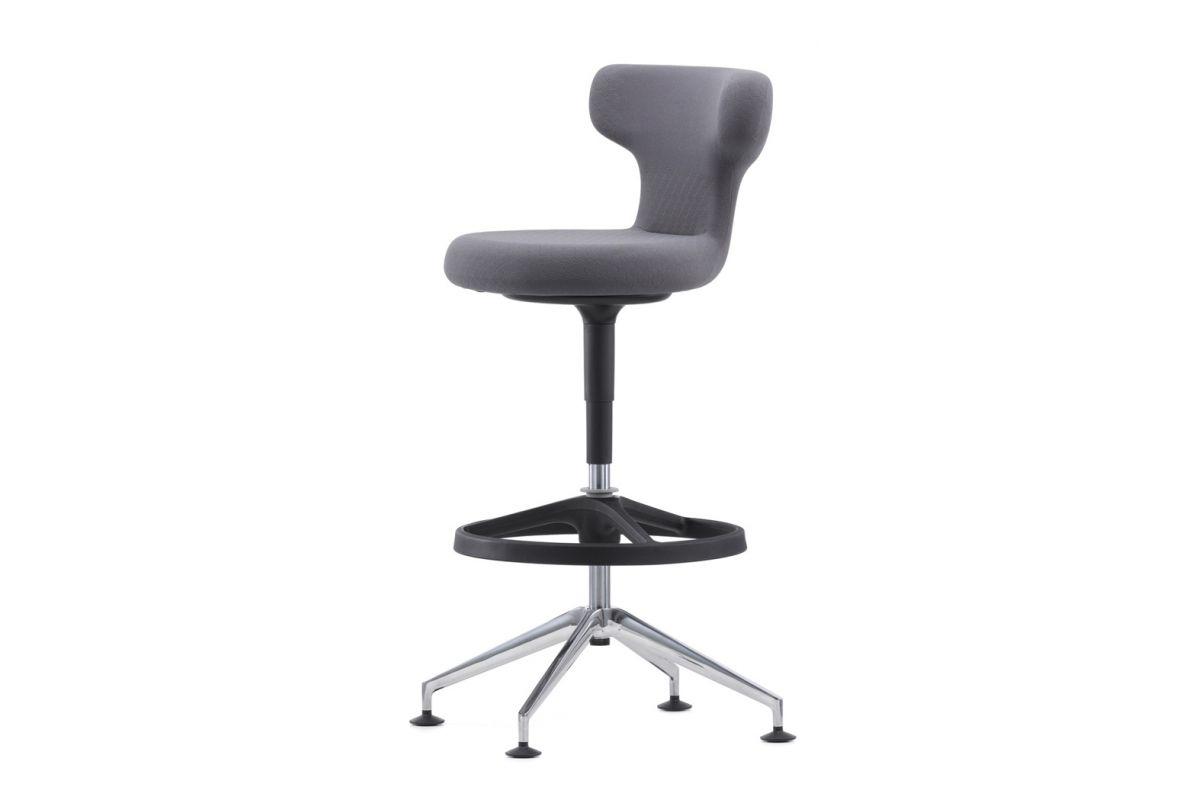 Vitra pivot counter stool round office mobilier de for Vitra mobilier