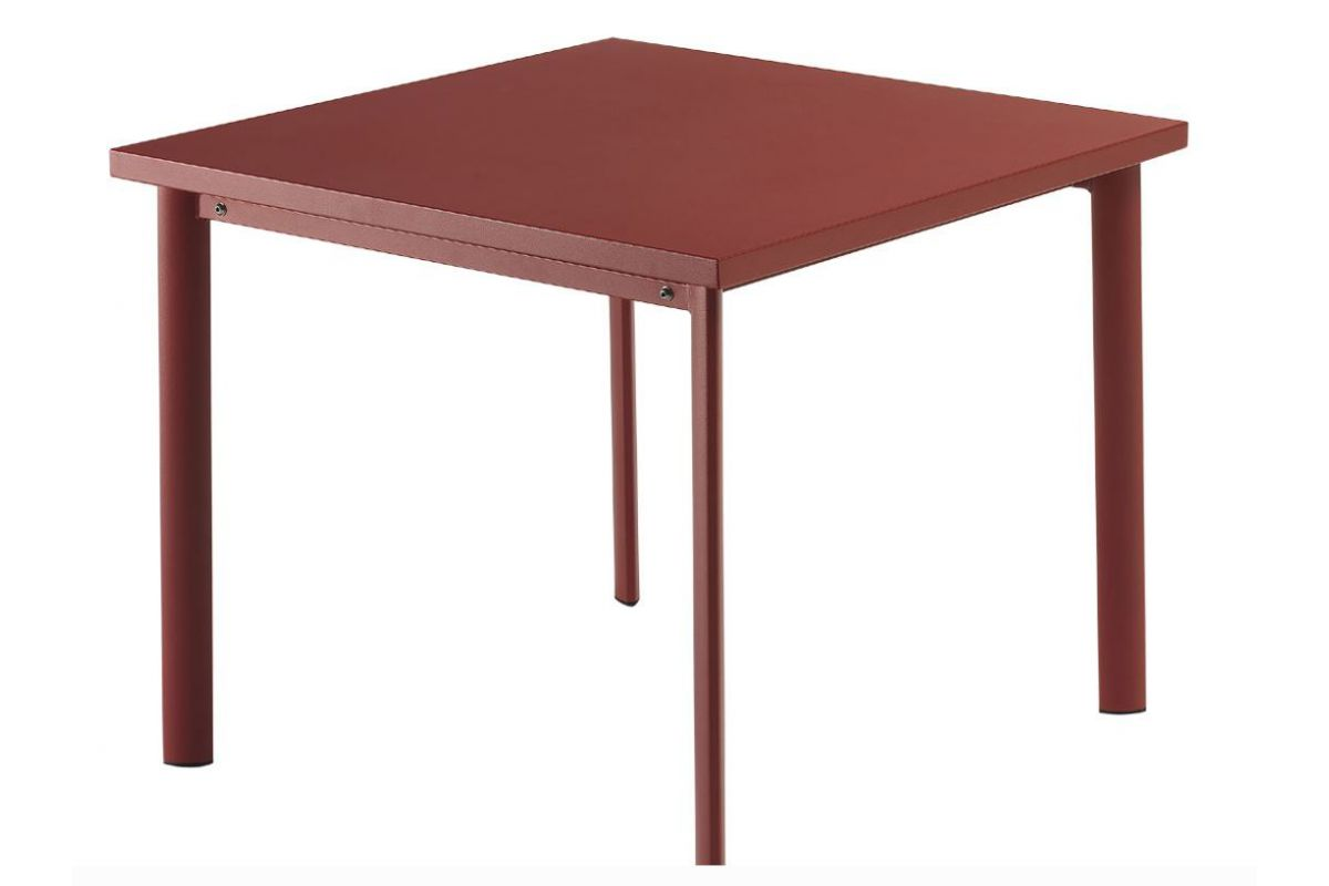 Emu star table round office mobilier de bureau gen ve for Hauteur standard table