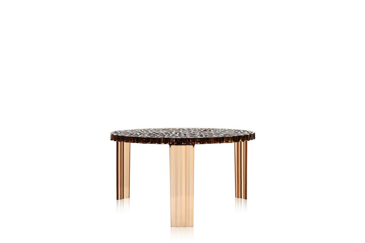 Kartell t table round office mobilier de bureau gen ve for Bureau kartell