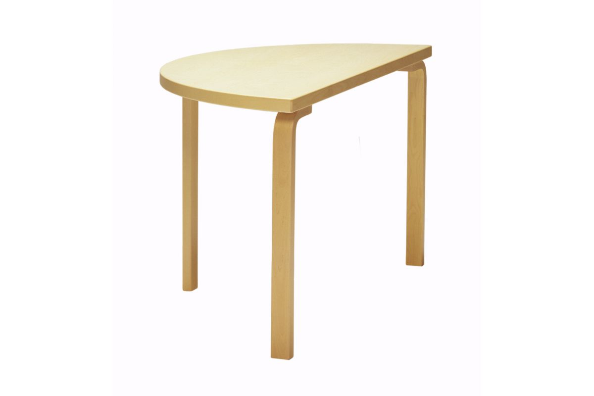 Artek table 95 129 cm round office mobilier de bureau for Mobilier bureau 95