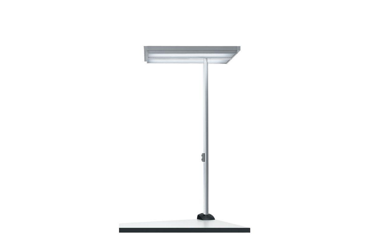 Waldmann tycoon comfort 4 lampe de table round office for Lampe de bureau sur pied