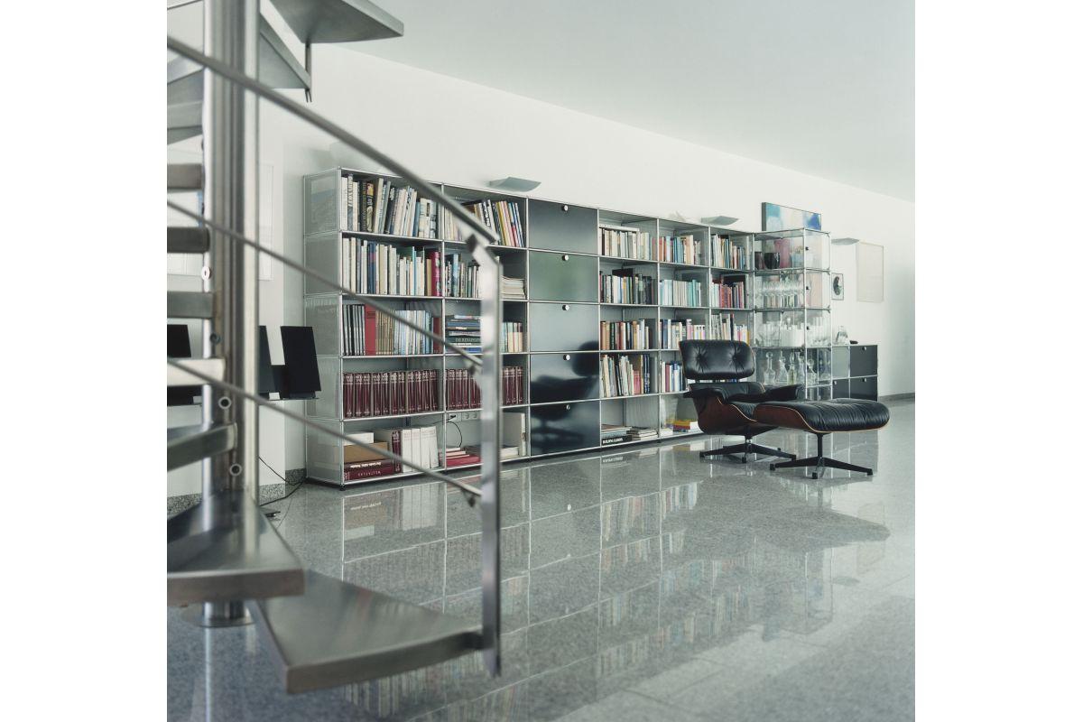 usm usm haller biblioth que round office mobilier de bureau gen ve. Black Bedroom Furniture Sets. Home Design Ideas