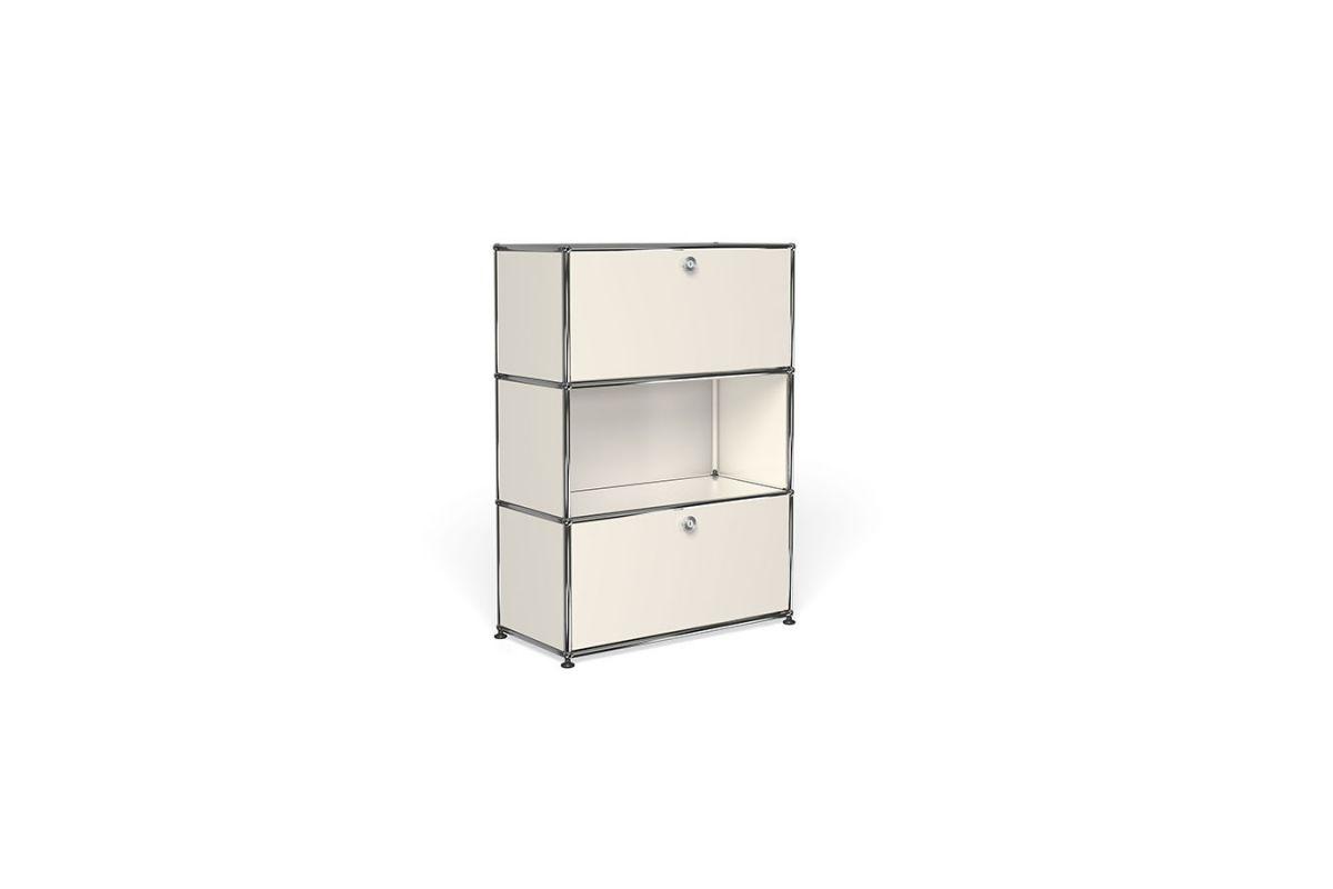 Usm usm haller meuble 75cm round office mobilier de for Bureau usm haller
