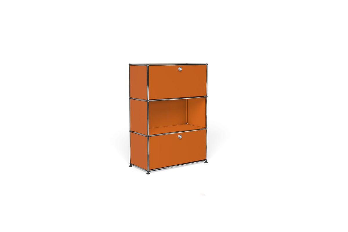 Usm usm haller meuble 75cm round office mobilier de for Meuble usm occasion