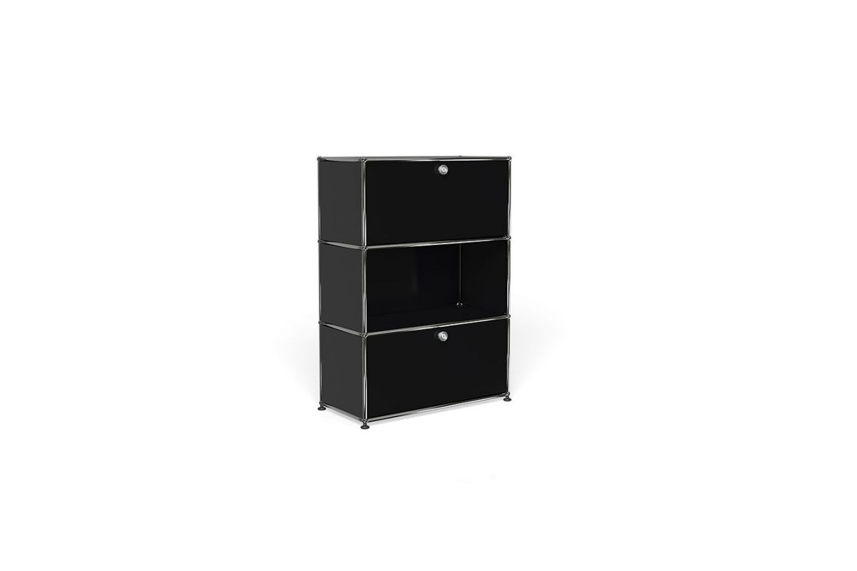 Usm usm haller meuble 75cm round office mobilier de for Meuble usm occasion