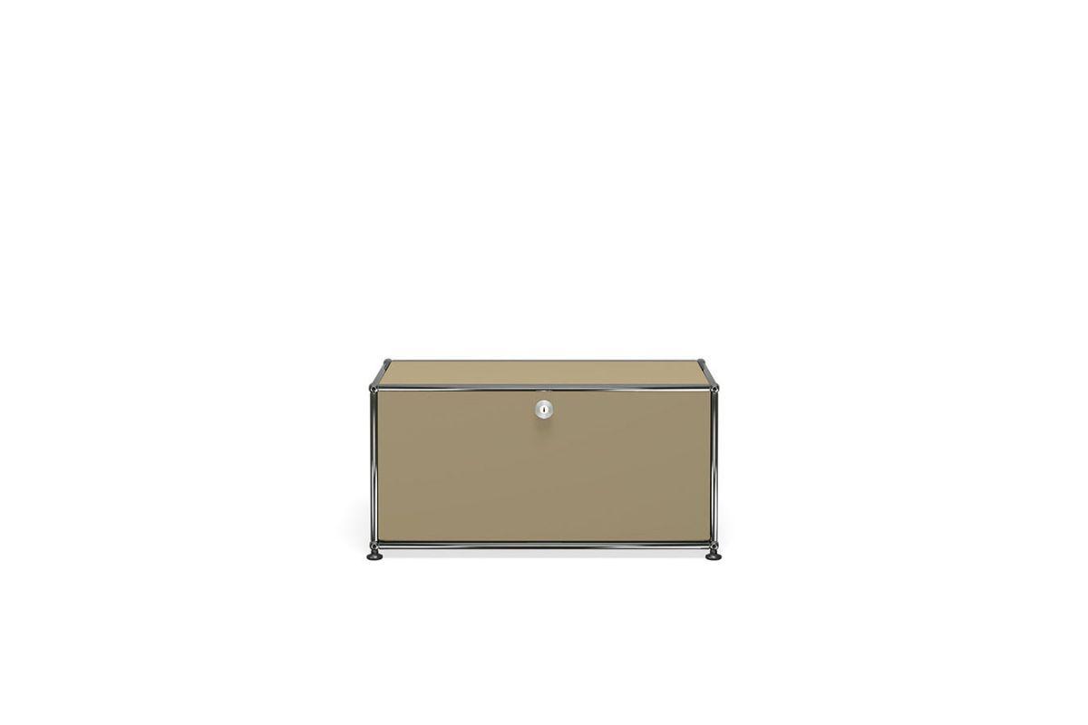 Usm usm haller meuble bas 75cm round office mobilier for Meuble usm occasion