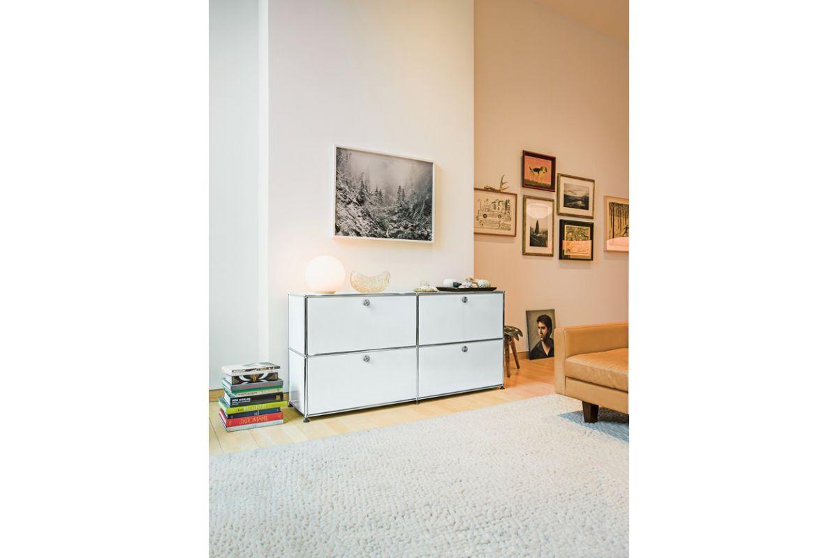 usm usm haller cr dence 4 modules avec portes round office mobilier de bureau gen ve. Black Bedroom Furniture Sets. Home Design Ideas