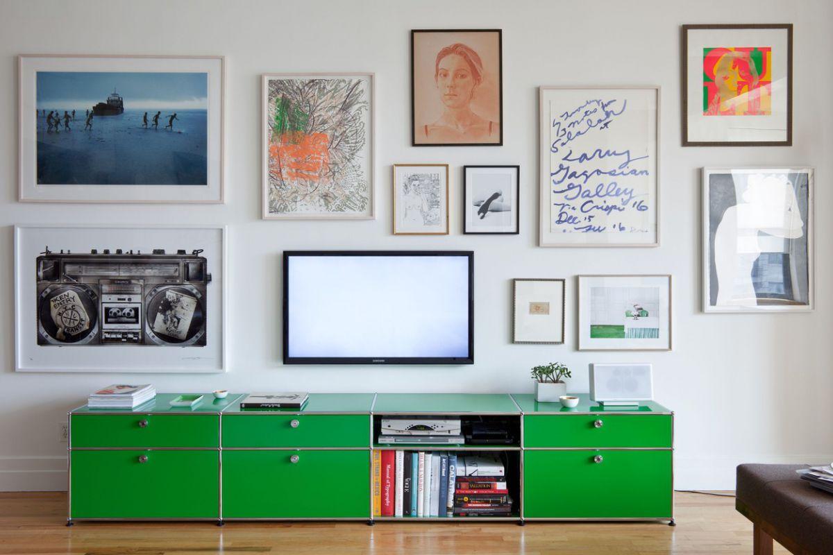 Usm usm haller tv hifi modules round office mobilier de