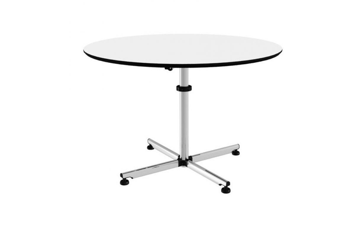 Usm usm kitos table ronde round office mobilier de for Hauteur table standard