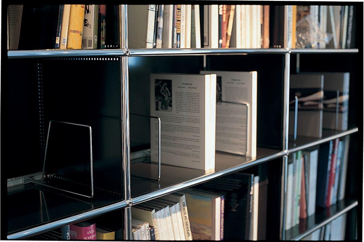 usm usm serre livres chrom round office mobilier de bureau gen ve. Black Bedroom Furniture Sets. Home Design Ideas
