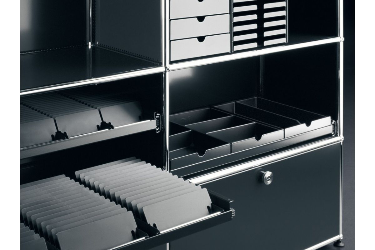 usm usm inos range dvd round office office systems geneva. Black Bedroom Furniture Sets. Home Design Ideas