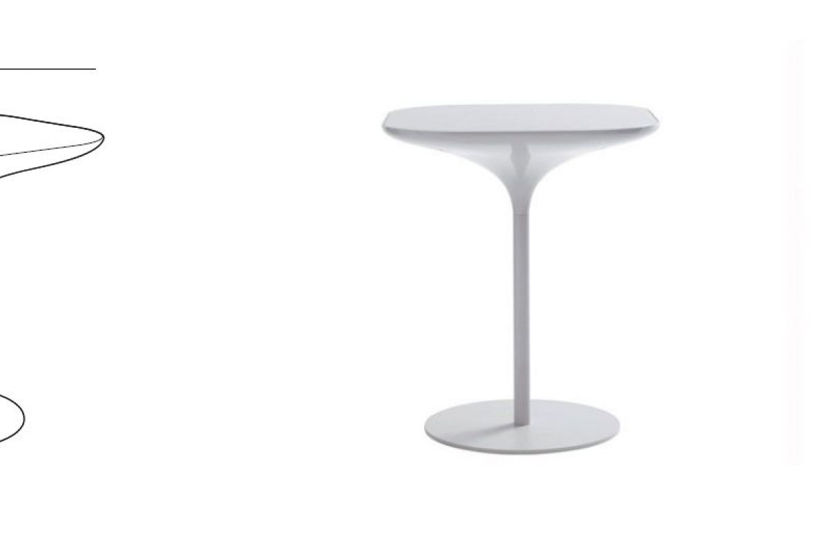 Casamania vad table round office mobilier de bureau gen ve for Hauteur standard table